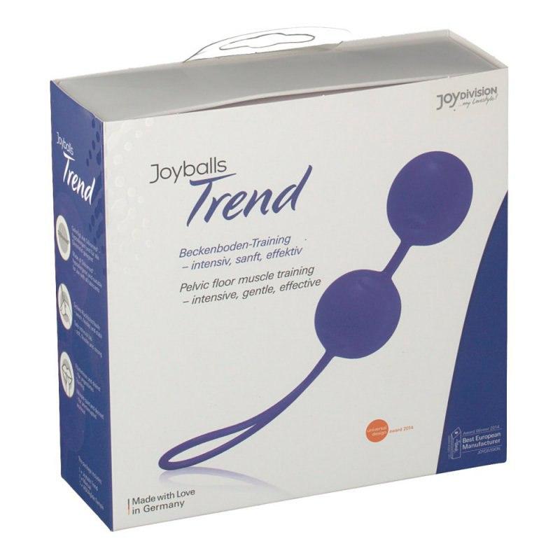 Вагинальные шарики Joyballs Trend со смещенным центром тяжести – фиолетовый вагинальный шарик joyballs trend со смещенным центром тяжести – фиолетовый