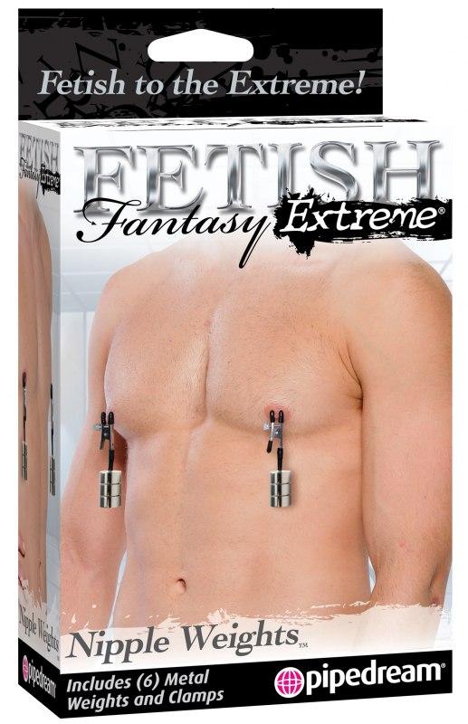 Зажимы для сосков с регулировкой веса Fetish Fantasy Extreme