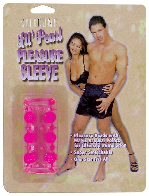 Насадка с бусинами Lil Pearl Pleasure