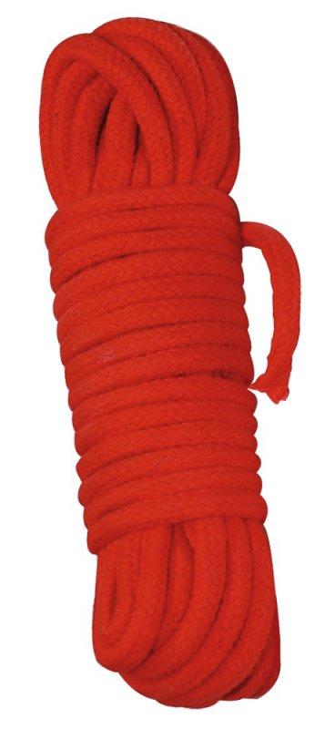 Веревка Bondage Rope 7 м - красный