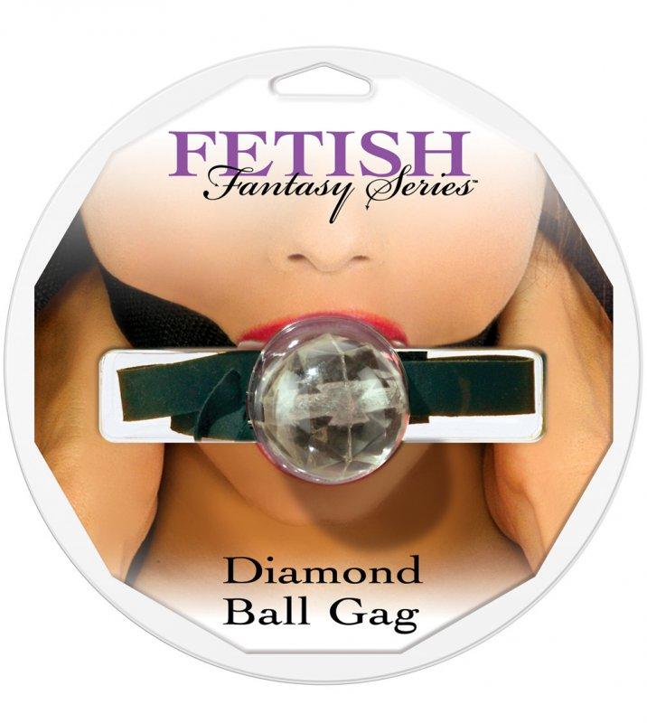 Купить Кляп Diamond Ball - Clear