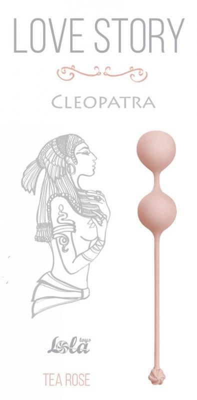 Вагинальные шарики Cleopatra Tea Rose – розовый