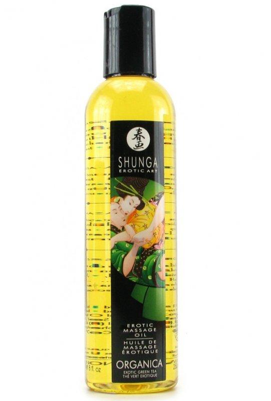 Эротическое массажное масло Organica (Exotic Green Tea)