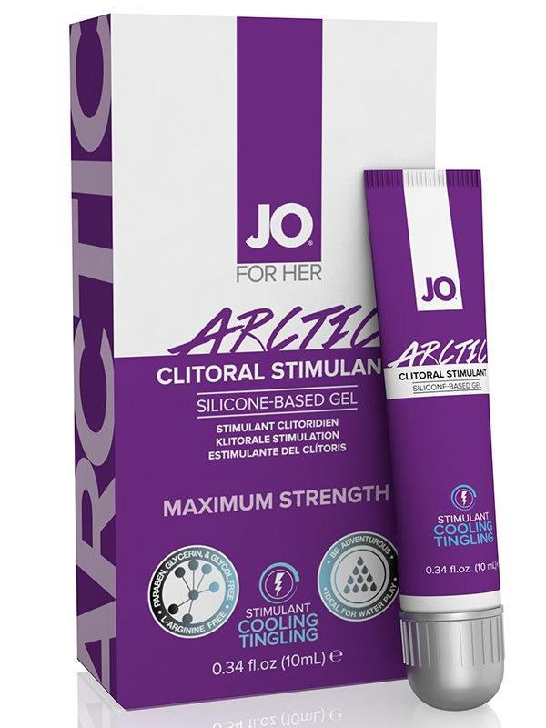 Стимулирующий гель для клитора Arctic Clitoral Stimulant с охлаждающим эффектом - 10 мл