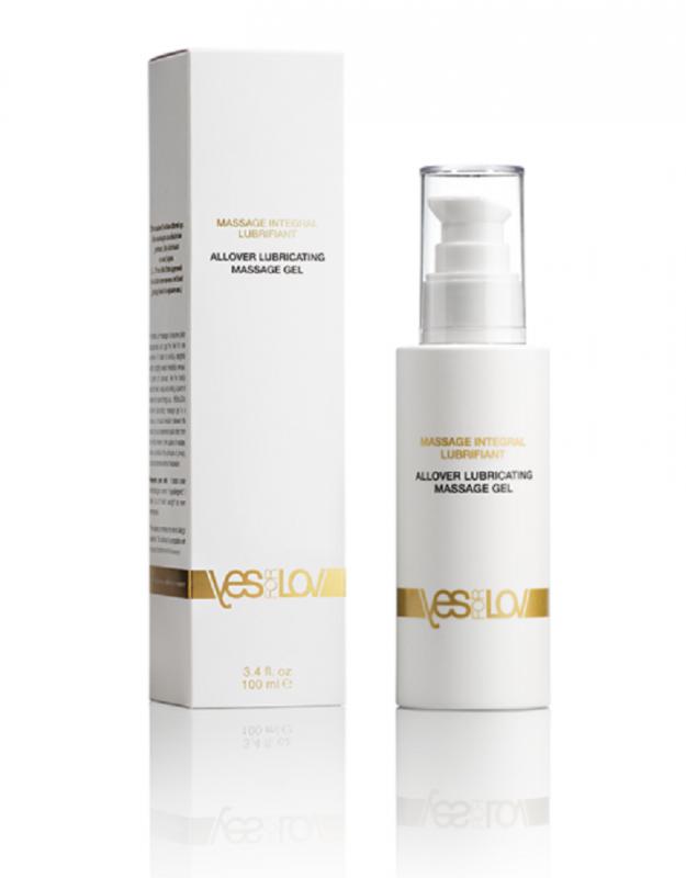 Гель-лубрикант на силиконовой основе YESforLOV Allover Lubricating Massage Gel - 100 мл цена