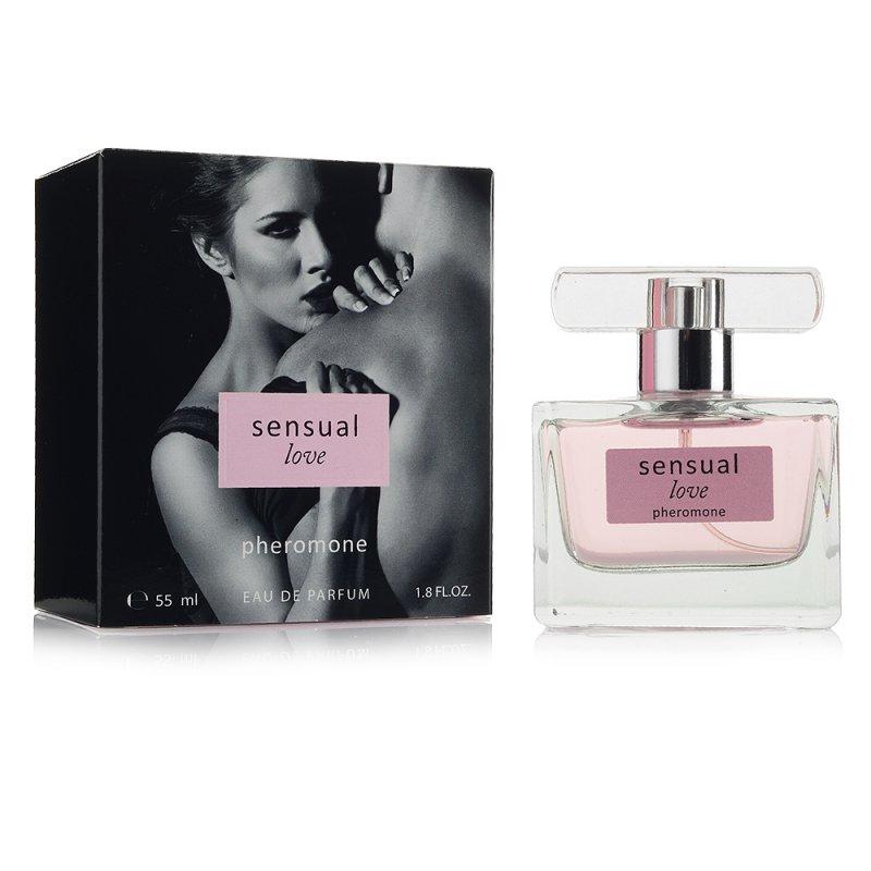Парфюмерная вода с феромонами для женщин Sensual Love 55 мл