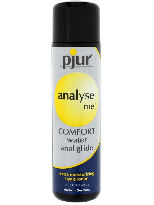 Анальный лубрикант Pjur® Analyse me! Comfort Water Anal Glide на водной основе - 100 мл