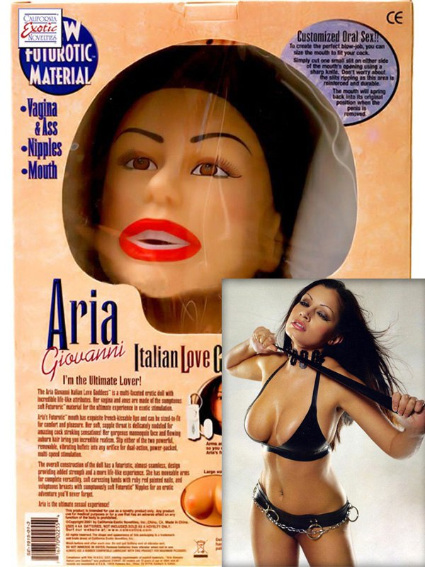 Эротическая кукла Aria Giovanni Italian Love Goddess Doll