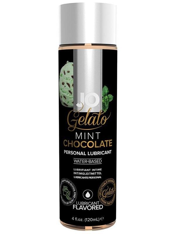 цена на Интимная смазка на водной основе с ароматом мятного шоколада JO Gelato Mint Chocolate – 120 мл