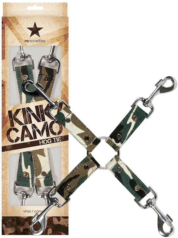 Фиксация для наручников и наножников Kinky Camo Hogtie