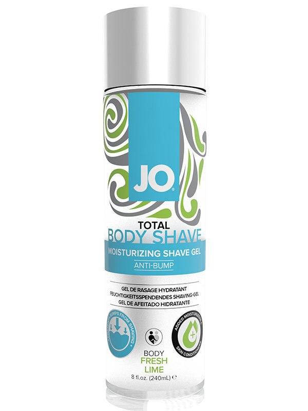 Гель для бритья и интимной гигиены JO Total Body-Anti-Bump Intimate Shaving Gel Fresh Lime - лайм