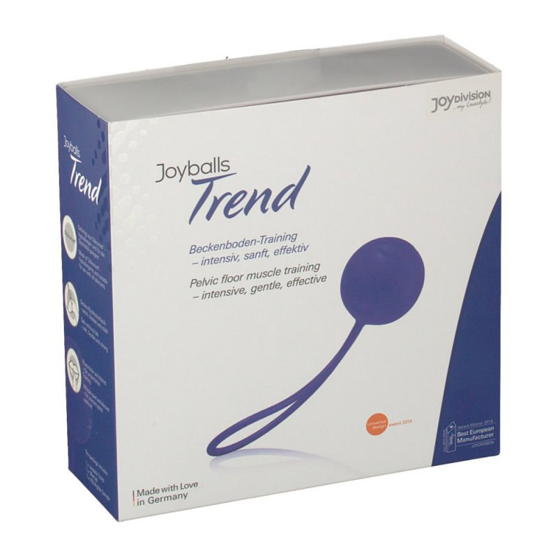 Вагинальный шарик Joyballs Trend со смещенным центром тяжести – фиолетовый вагинальный шарик joyballs trend со смещенным центром тяжести – фиолетовый