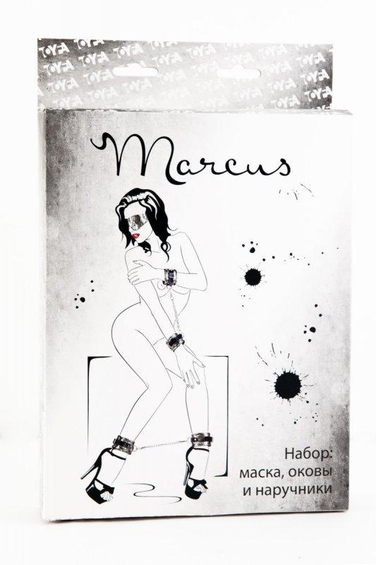Кружевной набор из 3 предметов TOYFA Marcus – серебристый