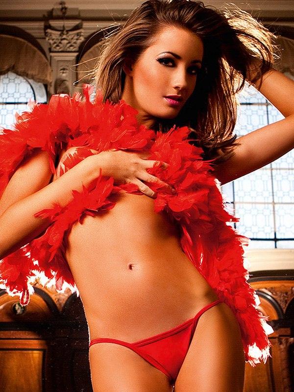 Купить Сексуальные трусики   Классические V-стринги красного цвета NeonBarock