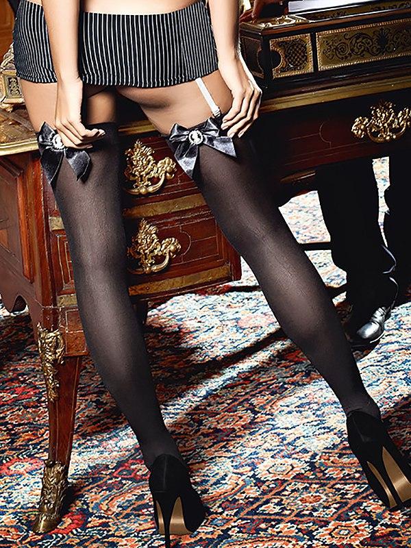 Чулки Sexy Secretary высокие – черные