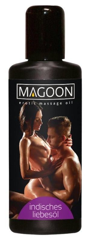 Масло массажное Magoon Indian Love с ароматом индийских благовоний – 200 мл