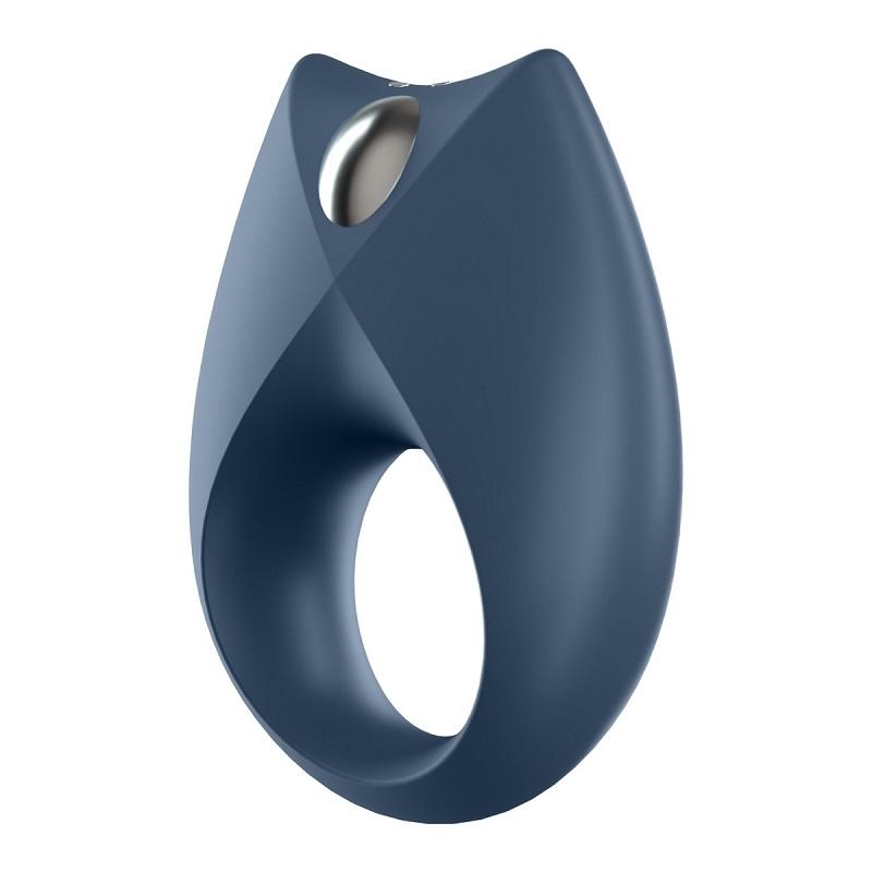 Эрекционное кольцо Royal One с возможностью управления через приложение - черный