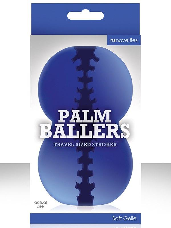 Мастурбатор Palm Ballers – синий