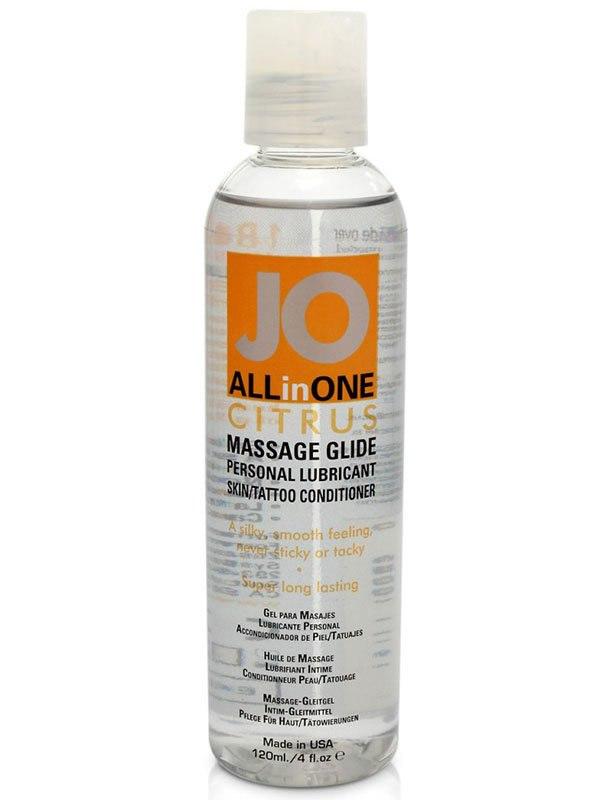 Массажное масло на силиконовой основе All-In-One Citrus с ароматом цитруса  120 мл