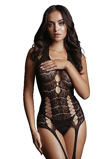 Кетсьюит (боди-комбинезон) Lace Suspender Bodystocking
