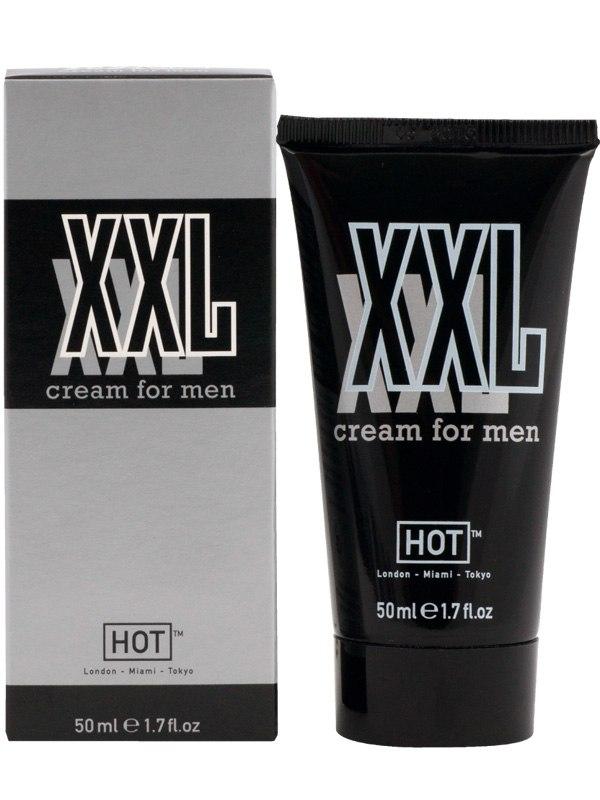 Крем для увеличения члена Hot XXL  для мужчин - 50 мл