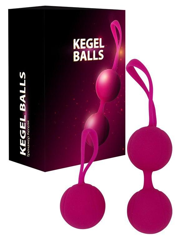 Набор Тренажер Кегеля Kegel Balls – розовый
