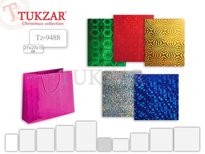 Подарочный пакет Tukzar из новогодней коллекции