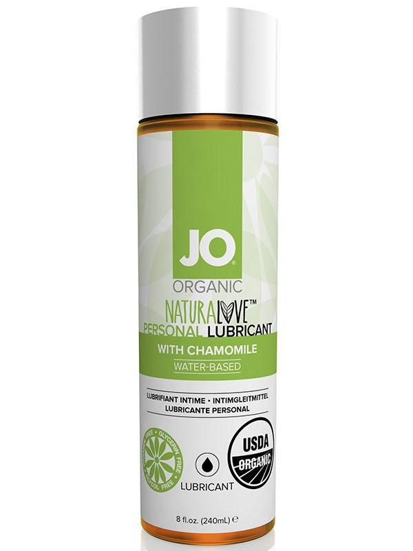 Натуральный лубрикант на водной основе JO Naturelove USDA Organic с экстрактом ромашки – 240 мл
