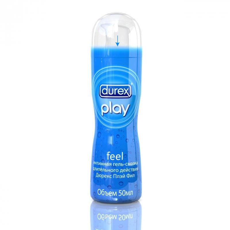 Классическая гель-смазка Durex Play Feel длительного действия – 50 мл