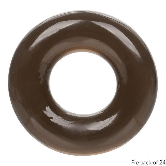 Эрекционное кольцо FOIL PK XL RNG — коричневое