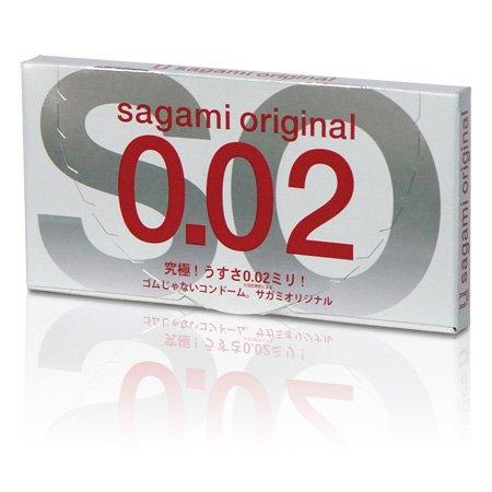 Презервативы Sagami Original 0,02 - 2 шт.