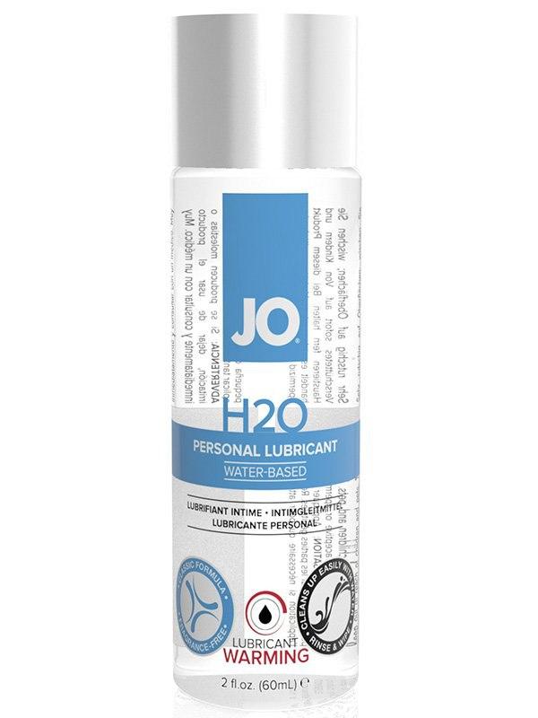 Возбуждающий лубрикант JO Personal H2O Warming - 60 мл