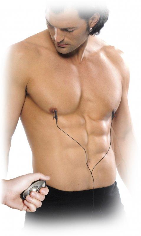 Электрозажимы для сосков Shock Therapy