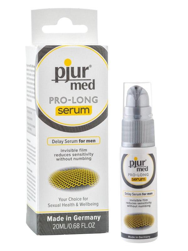 Концентрированная пролонгирующая сыворотка для мужчин Pjur® Med Pro-Long Serum – 20 мл