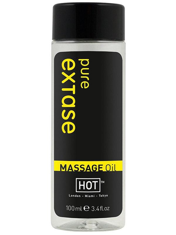 Массажное масло для тела Pure Extase с ароматом экзотических цветов  100 мл