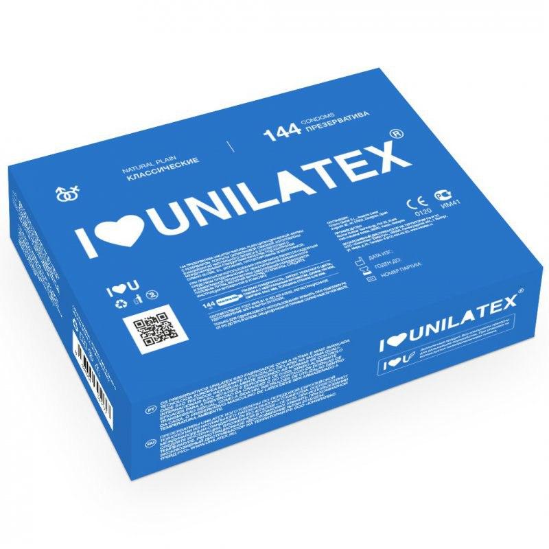 Классические презервативы Unilatex Natural Plain - 1 шт