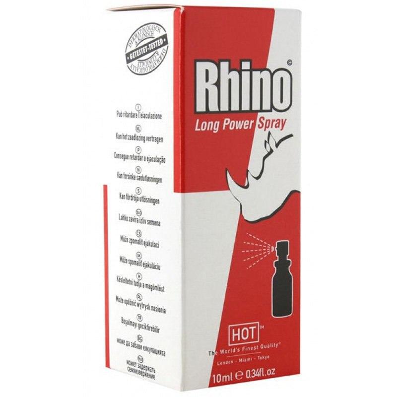 Спрей-пролонгатор Rhino Long Power Spray для мужчин  10 мл