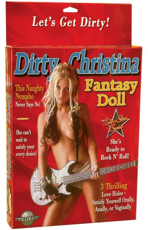Фантазийная кукла Dirty Christina (Pipedream, США)