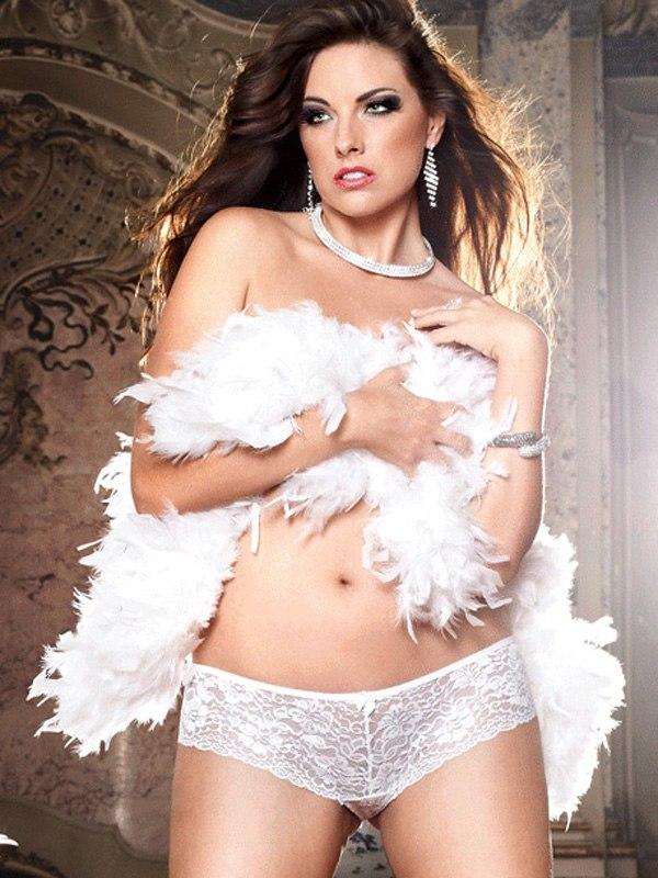 Великолепные белые шортики Love Angels - Queen Size