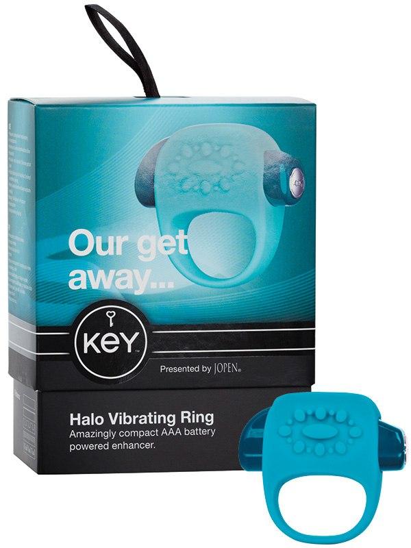 Вибро-кольцо Halo – голубое