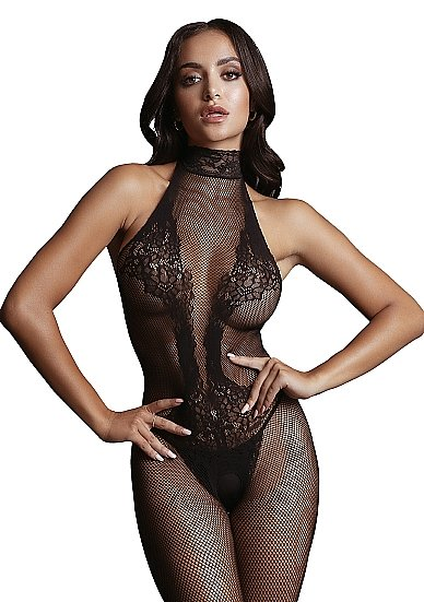 Кетсьюит (боди-комбинезон) Fishnet and Lace Bodystocking