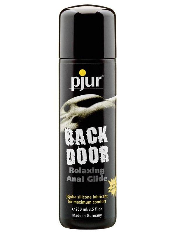 Концентрированный анальный лубрикант Pjur Back Door glide на силиконовой основе - 250 мл (Pjur, Германия)