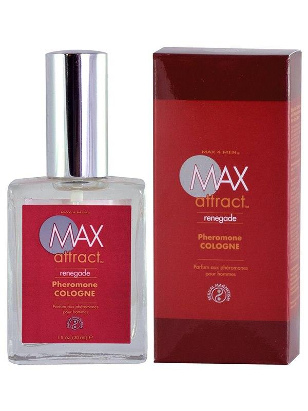 Пряный мужской аромат с феромонами Max Attract Renegade – 30 мл