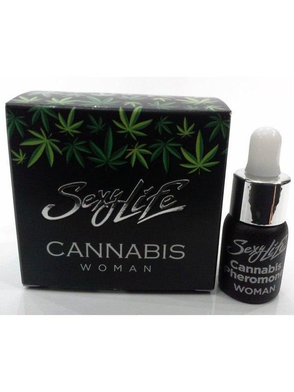 Женские концентрированные духи Sexy Life Cannabis с феромонами (Парфюм Престиж М, Россия)
