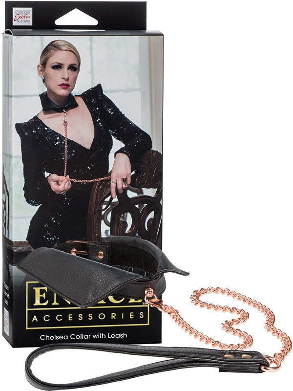 �������-���������� Entice Chelsea Collar with Leash � ��������-�����