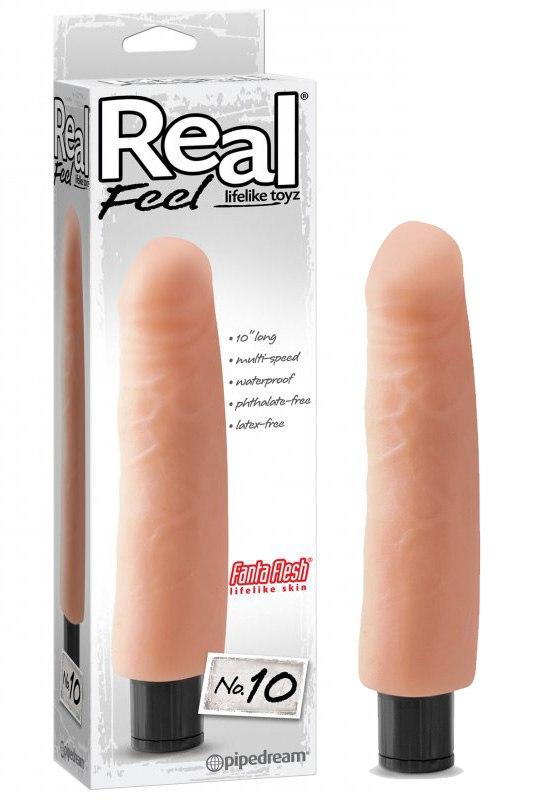 Вибратор Real Feel No. 10 (Pipedream, США)