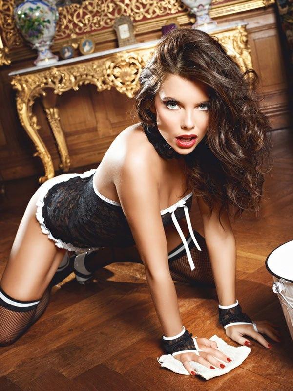 Игровой костюм Сексуальная Служанка (Baci Lingerie, США)
