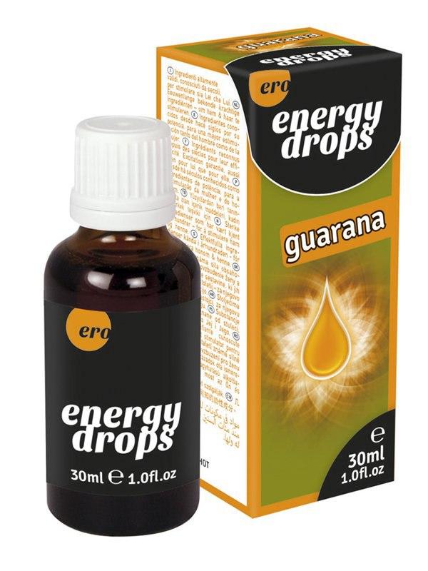 Возбуждающие энергетические капли Energy Guarana – 30 мл