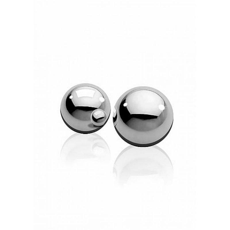 Металлические вагинальные шарики Medium Weight Ben-Wa-Balls - Silver