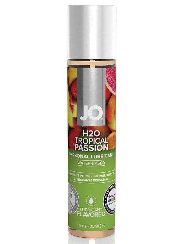 Съедобный лубрикант JO Flavored Tropical Passion - 30 мл